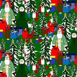 St Nick and Mrs St Nick Fabric Collection