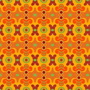 citrus floral dots