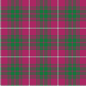 Fitzgerald tartan, Baluch regiment faded, 6""