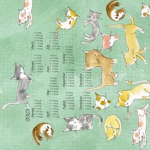 2020 Calendar: Cats  - © Lucinda Wei