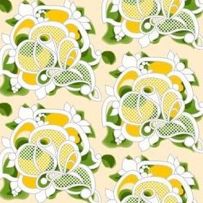 Gypsy rose lace_yellow