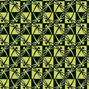 Alternate Reflections (Chartreuse)