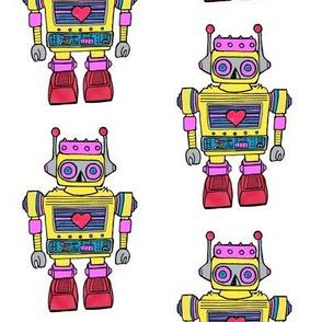 Yellow-Smaller size Robot