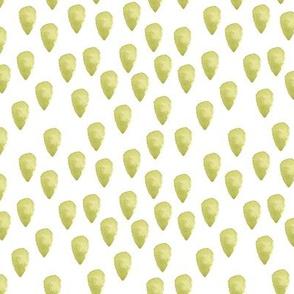 Grass Green drops Dots Spots Olive _ miss chiff designs