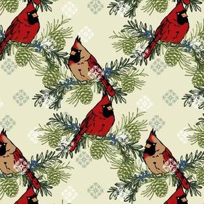 Woodland Cardinals