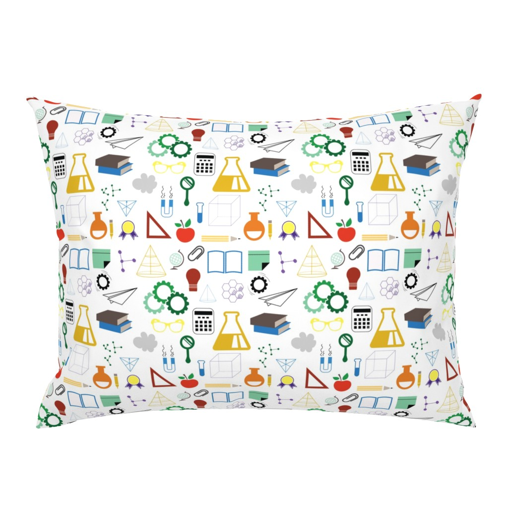 Campine Pillow Sham featuring STEM - 8in (multicolor) by studiofibonacci