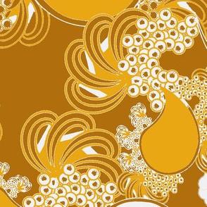 Golden Paisley