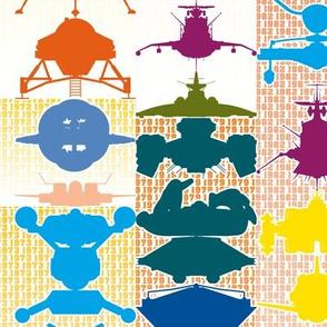 Spaceships 1908-2016