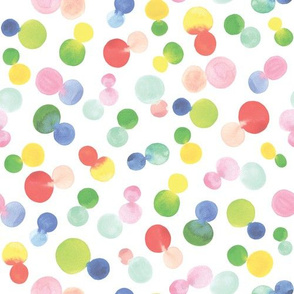 Watercolour Blended Dots