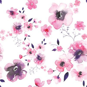 Purple Blossom Flowers