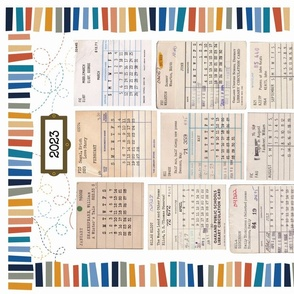 Library Tea Towel Calendar 2020