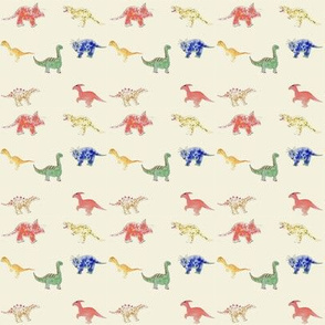Dinosaurs  Primary Colors