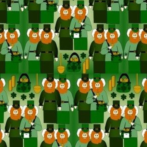 Jimmy Me Lucky Leprechaun Fabric Collection