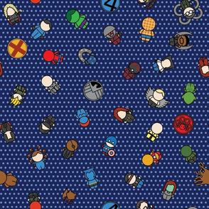 Mightiest Heroes - 12 in (blue)