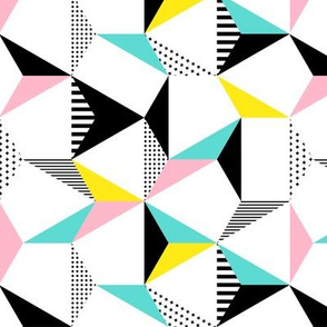 geo cool hexagons