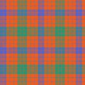 "Ross clan tartan, 8"" ancient colors"