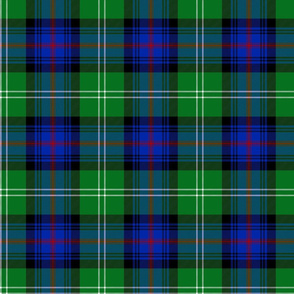 "Sutherland Old tartan, 6"", modern colors"