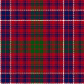 "MacRae red tartan #2, 6"" muted colors"