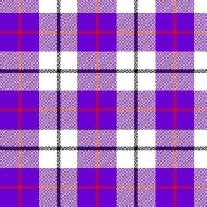 """MacRae dress purple tartan, 3"""""""