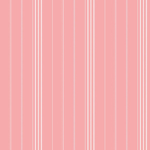 Branching out - Coordinating Stripes in Coral