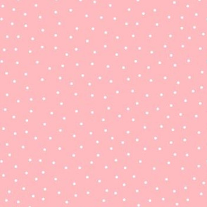 snowy dots pink :: cheeky christmas