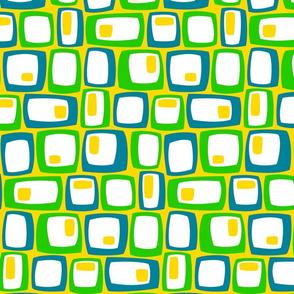 Egg Breakfast TV on yellow