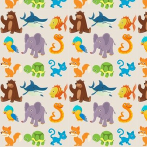 Cuddly Animals - 3.75 in