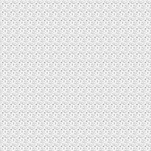 Mini Dinos in Black & White