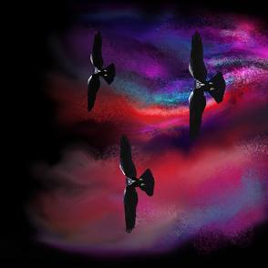 Raven in Smoke and Magic