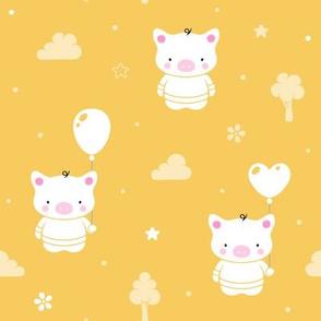 Baby Teddy Pigs