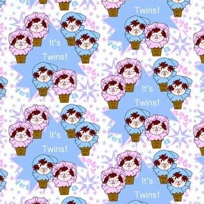 Baby Heads Boys and Girls Twins Fabric Collection