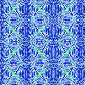 Beaded Fractal Waves - Blueberry