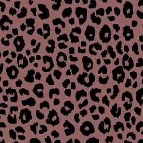 Pale Mauve - Leopard