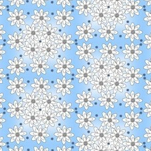 Baby Boy Christening Fabric Collection