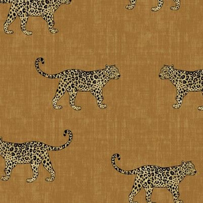 Leopard Texture Gold