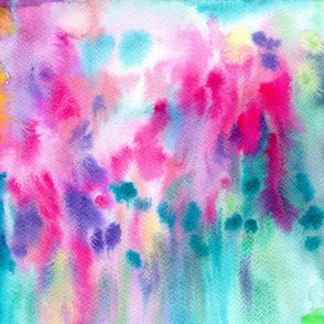 Watercolor wash texture