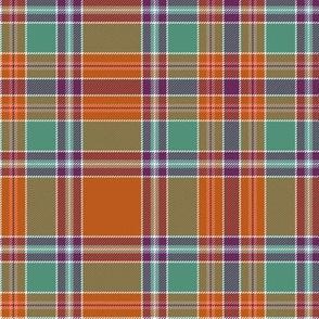 "Birral / Burrell tartan, 6"" symmetrical ancient"