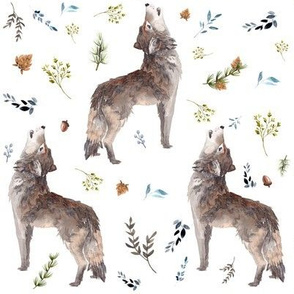 """8"""" October in the Wild / Wolf"""