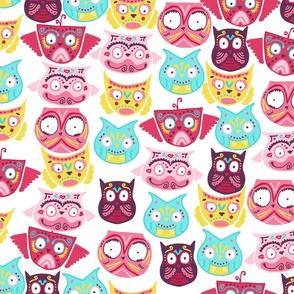 ornate owls