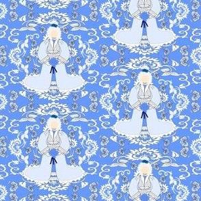 Victorian Ladies Julia Bridget Fabric Collection