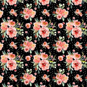 Indy bloom design Christmas Snowberry Rose A