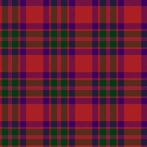 "Caledonian Lovat/Fraser/Wilson's tartan, 6"""