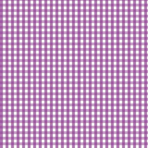 tiny gingham grape