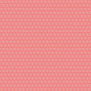 Court & Spark - Mini Dot Flowers Blush