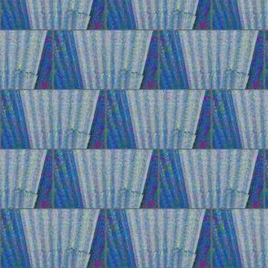 Wet Corrugated Fence, 1