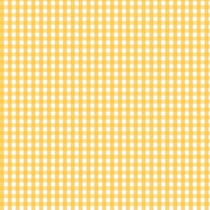tiny gingham golden honey