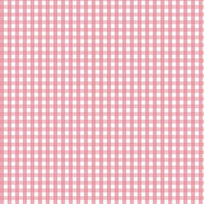 tiny gingham berry cream