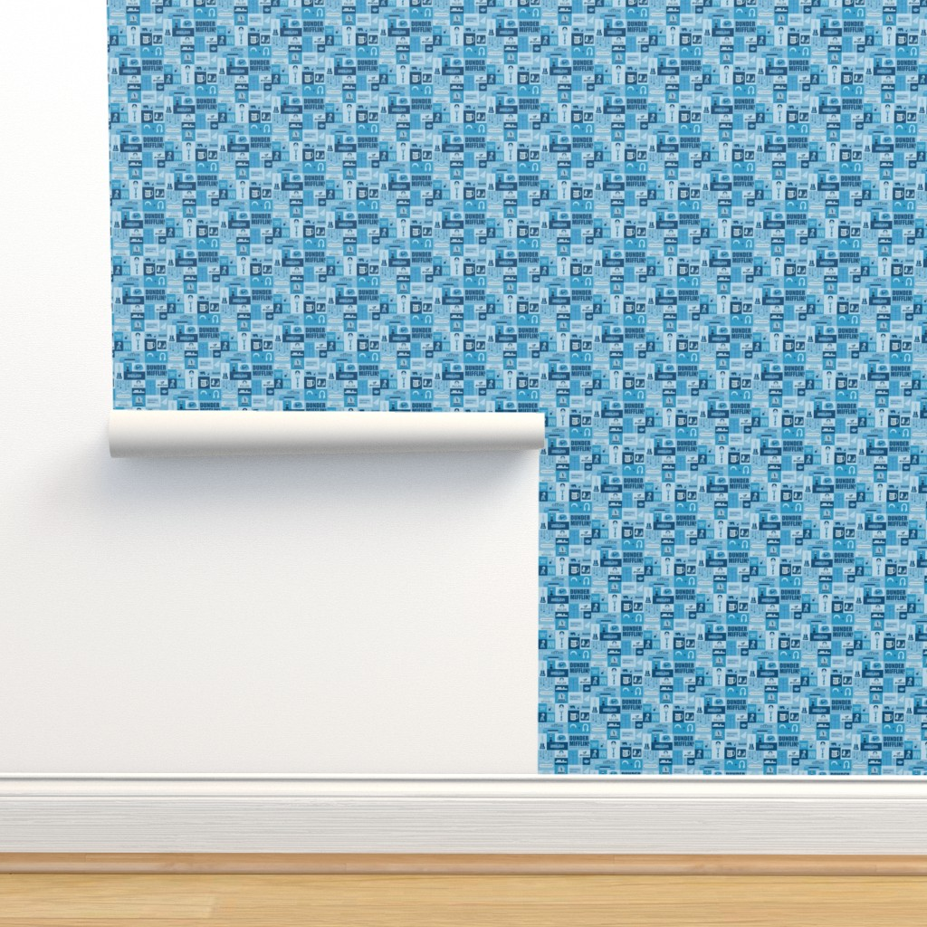 Isobar Durable Wallpaper featuring The Office Icons by nerdfabrics