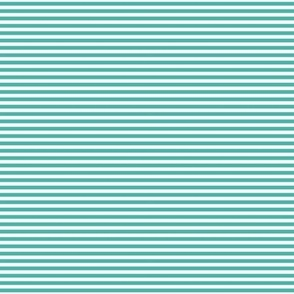turquoise pinstripes