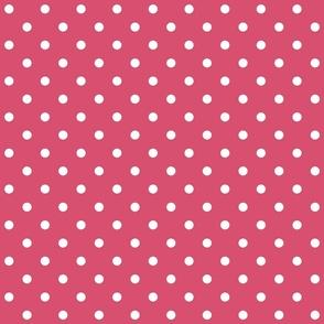 honeysuckle polka dots